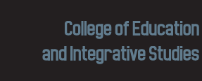 Doctoral Studies, College of Education and Integrative Studies